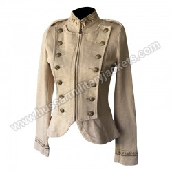 Womens Military Army Band Jacket