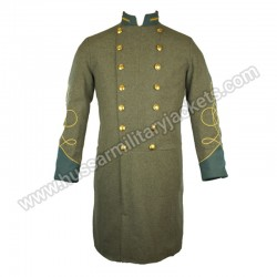Officer Solid Collar & Cuff CS Frock Coat