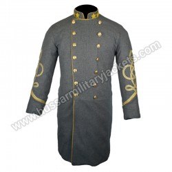 Officer Piping Trim Collar & Cuff CS Frock Coat
