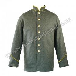 CS Cavalry Piping Collar & Cuff Sack Coat