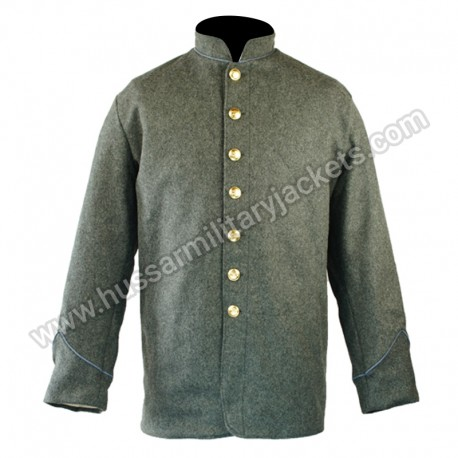 CS Infantry Piping Collar & Cuff Sack Coat