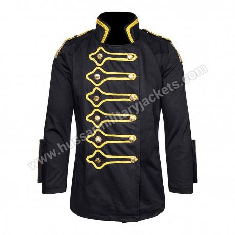 Golden Steampunk Drummer Jacket