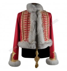 Pelisse for lieutenant of hunter on horseback Nice pelisse