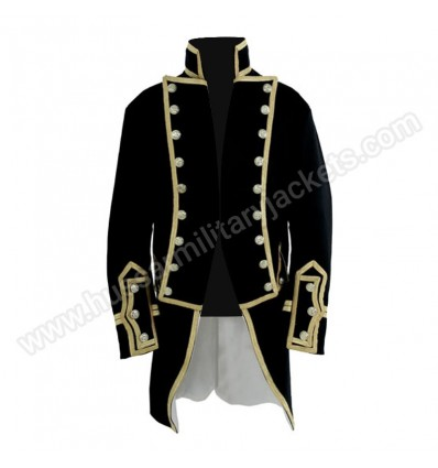 Captains Frock 1795 - 1812 Shown here is a Naval Captains