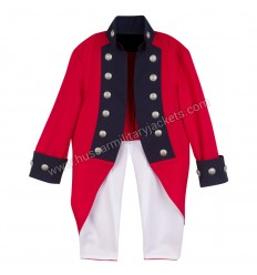 Deluxe Children Sir Henry Clinton British Revolutionary War Unifrom