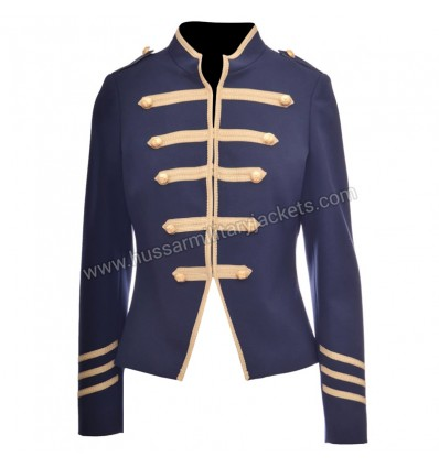 Gold Embossed Military Jacket