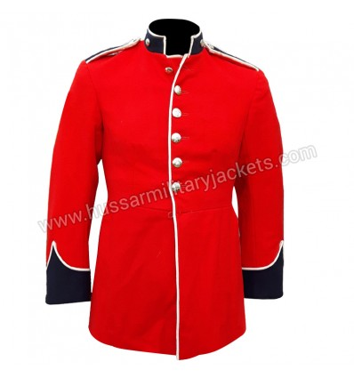 British Officer Red Army Wool Uniform Dress Tunic Jacket