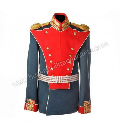 The Russia Officer Uniform of an of the Life Guards Preobrazhensky Regiment