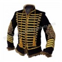 Napoleonic Hussars Uniform Military Style Tunic Pelisse Jimi Hendrix Jacket