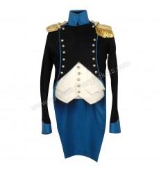 British Napoleonic Civilian Clothing Uniform a la chasseur for capitaine aide de camp