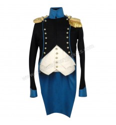 British Napoleonic Uniform Civilian Clothing Has Hunter For Captain Helper
