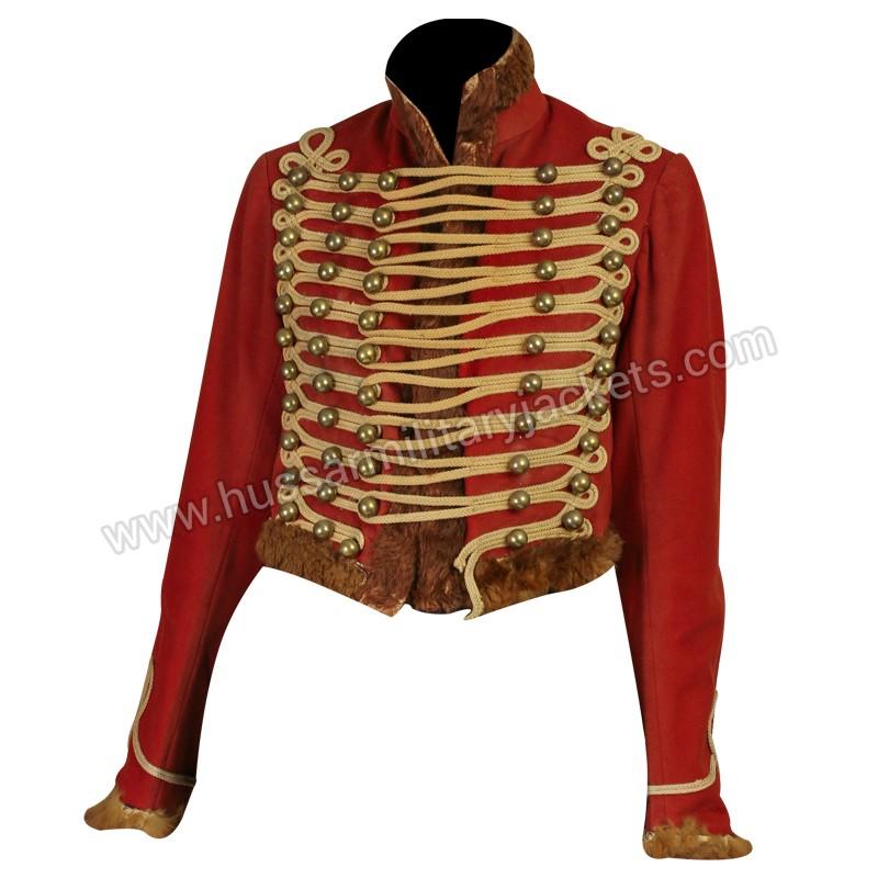 Antique 1900s Victorian Military Uniform Coat Small ...