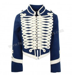 Military Medium Blue Wool Jacket