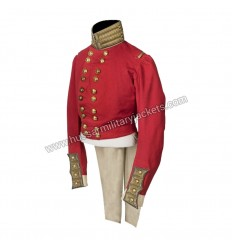 Officer's full dress red coat