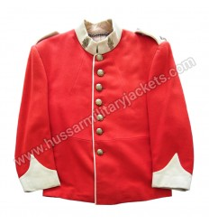 Canadian Tunic Red Military Dress Jacket
