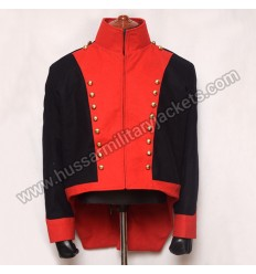 Officers short Tailed coat 8th Light Dragoons 1815