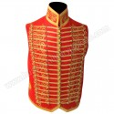 Light Senior Cavalry Officer Waistcoat with Silver Braid for Some Hussar Regiment