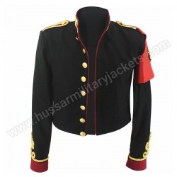 MJ Michael Jackson Black Royal Retro Military Jacket