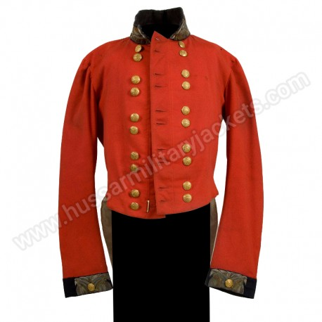 Coat worn by Major Edmund Richard Jeffrey's Depot Battalion pattern 1846