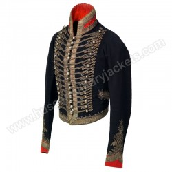 Officers full dress jacket 16th or Queen Light Dragoons 1814
