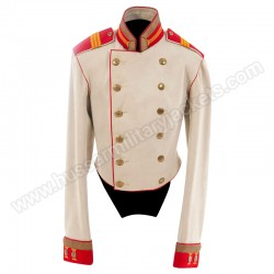 AN IMPERIAL RUSSIAN HORSE GUARD CAVALRY SERGEANT'S CEREMONIAL COAT