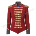 Red Military Jacket Pinky Laing Avenue 32