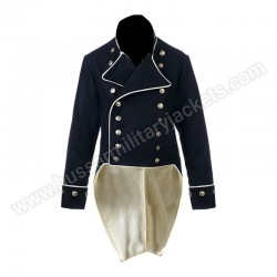 Shown here is a Naval Captains undress service frock coat circa 1805