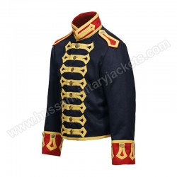 Royal Horse Artillery Drivers Tunic Circa 1815 Made in Full dark blue wool