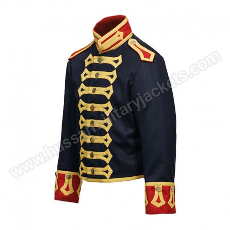 Royal Horse Artillery Drivers Tunic Circa 1815 Made in dark blue wool