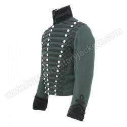 95th Rifles Officers Tunic made from Rifle Green wool