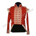 British 41st Regt Of Foot Grenadier Coy Red Wool Officer Jacket