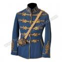 Captain and Commander Machine-gun Department Hussar Regiment Military Officer Jacket