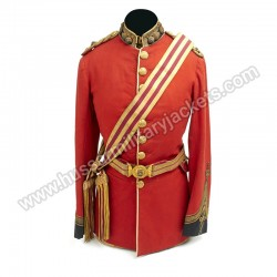 British Victorian Royal Fusiliers Officer Tunic Coat - Circa 1885