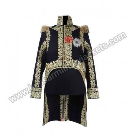 Marshal full dress Turn backs embroidered on 2 faces