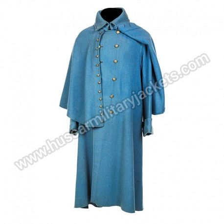 Civil War Cavalry Officers Great Coat