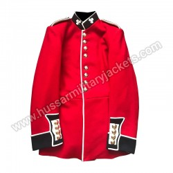 IRISH GUARDS LANCE SERGEANT TUNIC scarlet jacket ceremonial parade LSGT army