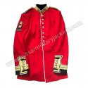 Warrant Officer Irish Guards Ceremonial Red Tunic Scarlets Army Jacket