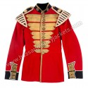 Coldstream Guards Drummer Major Scarlet and Gold Lace Tunic