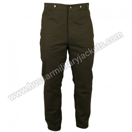 Classic Canvas Walnut Trousers