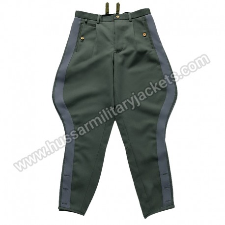 German Wwii Ss General Gray Stripe Breeches