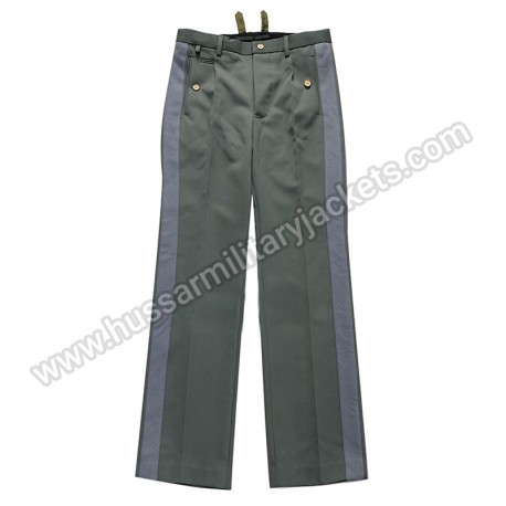 German Ww2 Ss General Gray Stripe Trousers