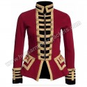 French Terry Military Officer Jacket