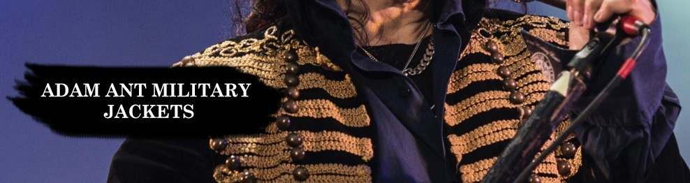 Adam Ant Military Jackets