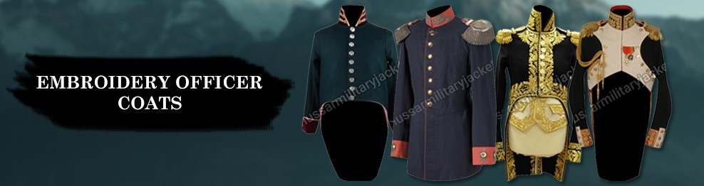 Embroidery Officer Coats