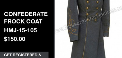 Confederate Frock Coat